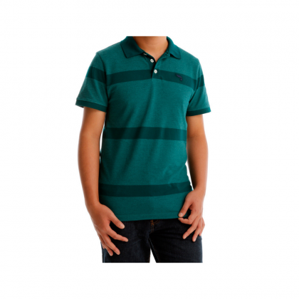 Antioni Polo Smart Men Polo Tee Short Sleeve (MD GREEN)