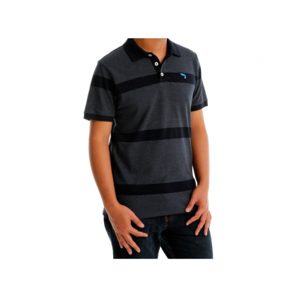 Antioni Polo Smart Men Polo Tee Short Sleeve (MD NAVY)