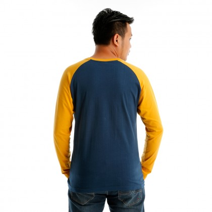 Antioni Victory Men Round Neck Long Sleeve (MD BLUE)