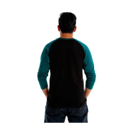 Antioni Victory Men Round Neck Long Sleeve (MD BLACK)