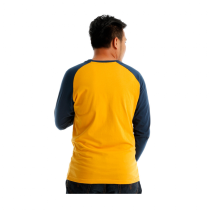 Antioni Sport Men Round Neck Long Sleeve (MD YELLOW)