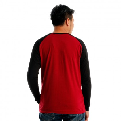 Antioni Victory Men Round Neck Long Sleeve (MD MAROON)