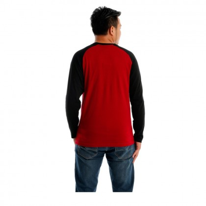 Ubay World Men Round Neck Long Sleeve (MD MAROON)