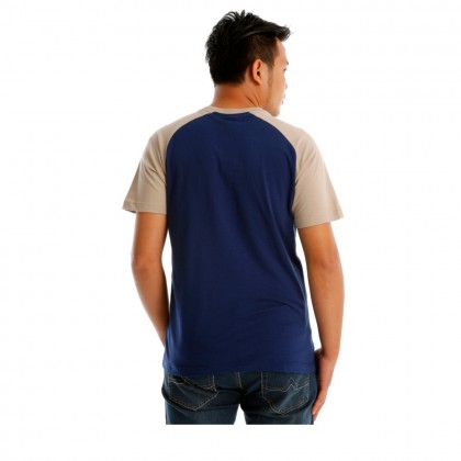 UBAY ORIGINAL MEN ROUND NECK TEE SHORT SLEEVE (DK BLUE)