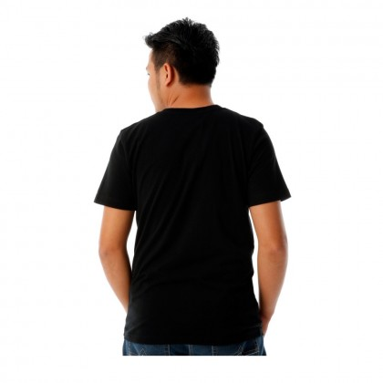 UBAY WORLD MEN ROUND NECK TEE SHORT SLEEVE (MD BLACK)