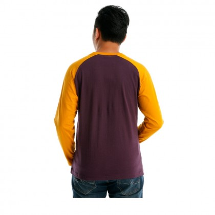 UBAY VIBE MEN ROUND NECK LONG SLEEVE (MD PURPLE )